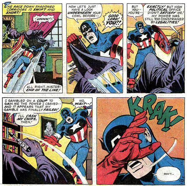 Nixon Number One Secret Empire Captain America Atomic Junk Shop
