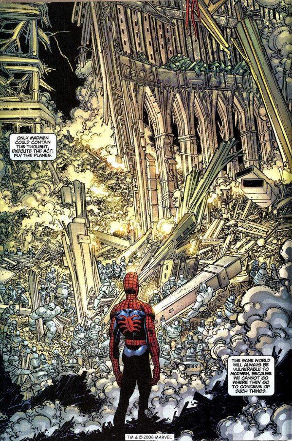 Spider-Man 36 9/11 Atomic Junk Shop