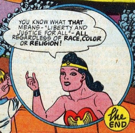 Wonder Woman Atomic Junk Shop