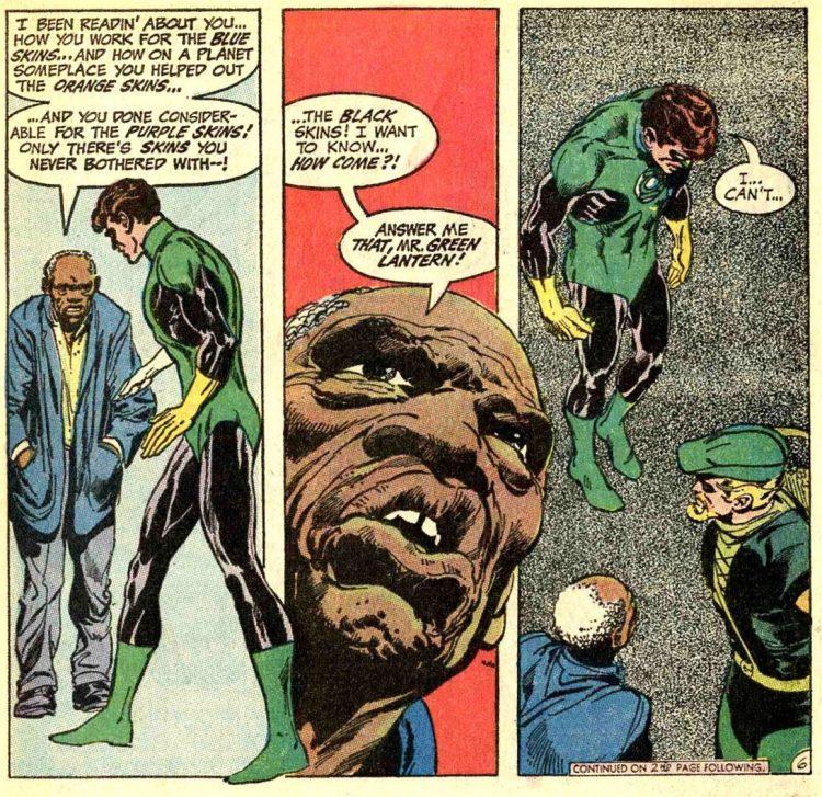 Green Lantern Green Arrow 76 Atomic Junk Shop