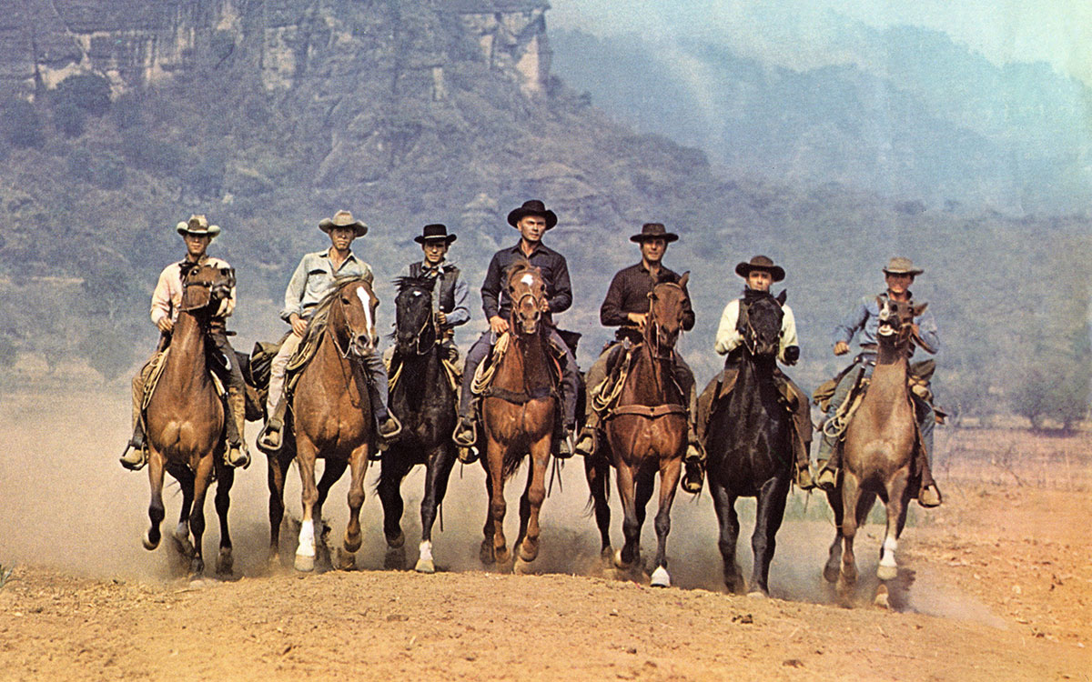 Manly men in 'The Magnificent Seven'