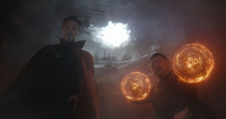Dr. Strange and Wong.