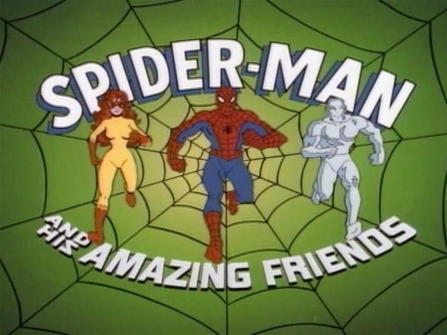 Spider-Man Amazing Friends Rick Hoberg Atomic Junk Shop