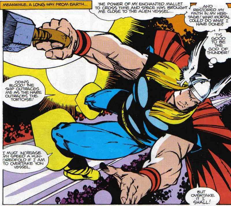 Thor Walter Simonson Atomic Junk Shop