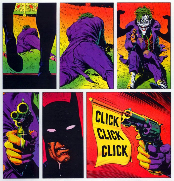 Batman Killing Joke Empty Gun