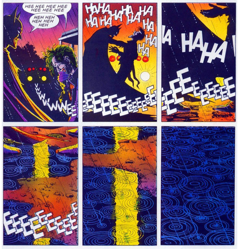 Batman Killing Joke Final Page