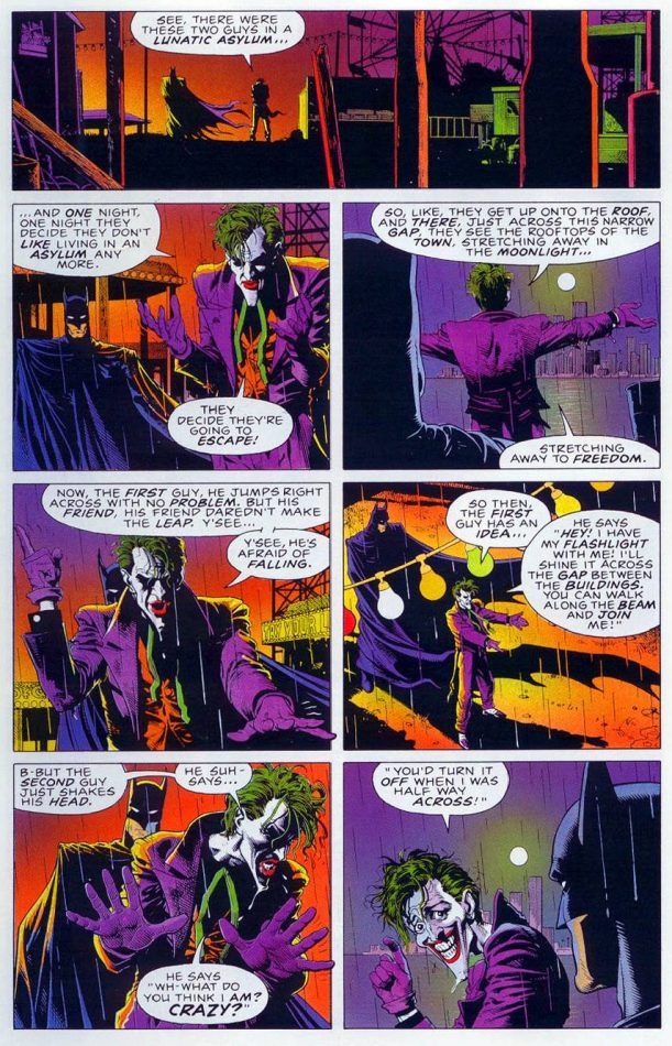 Batman Killing Joke Final Joke