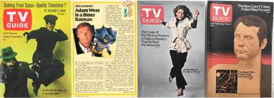 Forgotten Cool: Poring Over the TV Guides