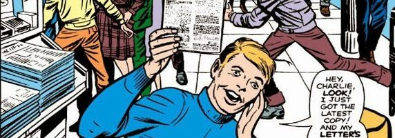 """""""My letter's on the fan page!"""" Silver Age Marvel Comics on Earth-616"""