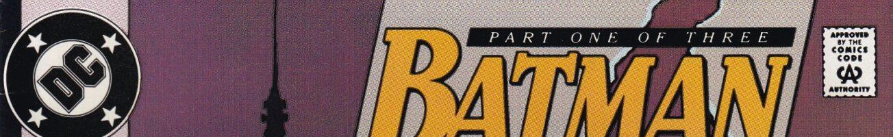 Comics You Should Own – 'Batman' #452-454