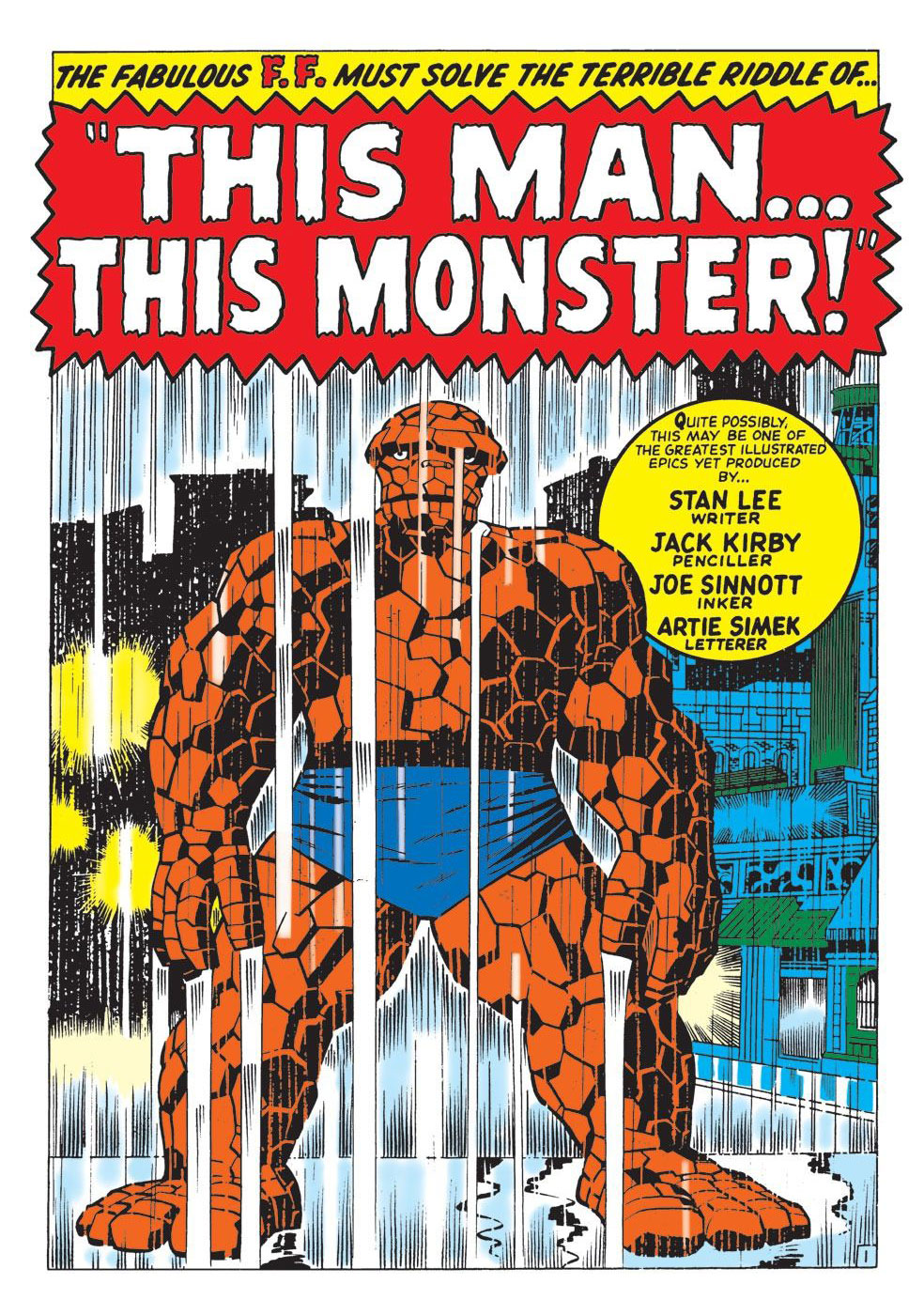 """""""This Man...This Monster!"""" Comic page"""