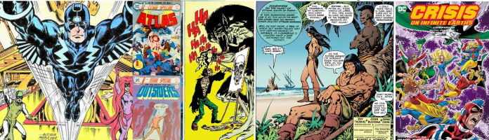 Quarantined In the Bronze Age of Comics (Mostly)