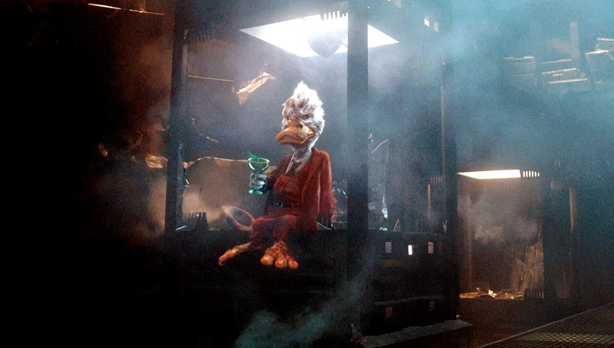 Howard the Duck in 'Guardians of the Galaxy'