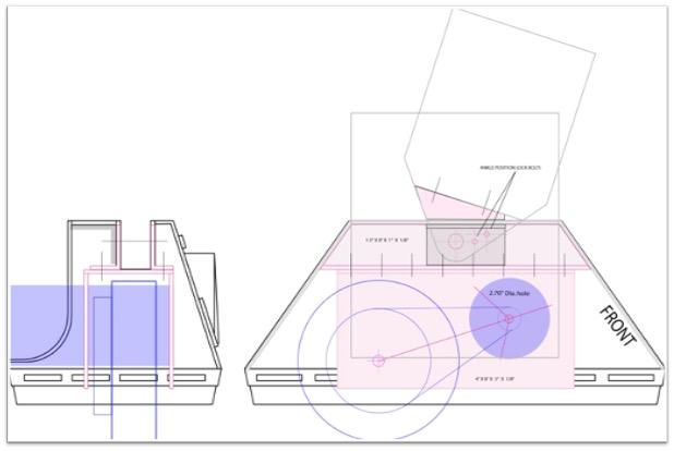 foot blueprint