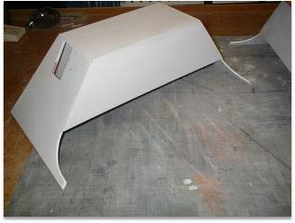 R2 foot shell