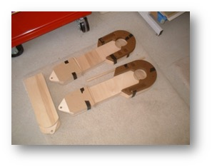 R2 legs assembled