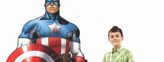From the Archives: My Real-Life Superhero