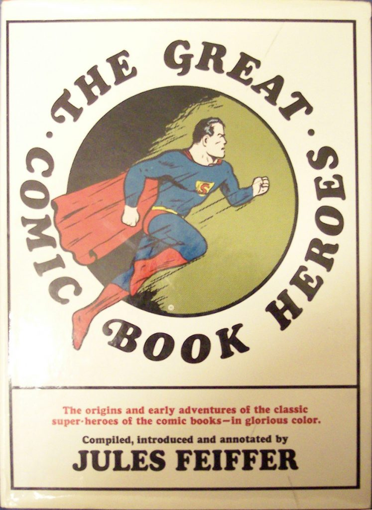 'The Great Comic Book Heroes' by Jules Feiffer
