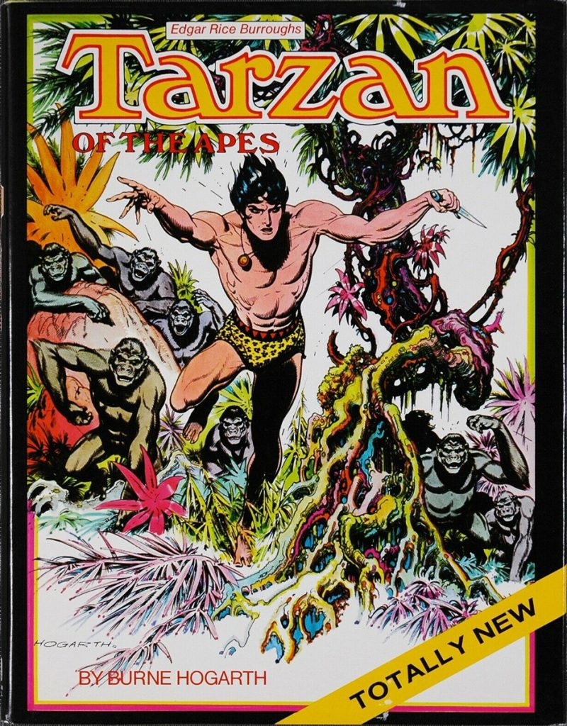 'Tarzan of the Apes' adapted by Burne Hogarth