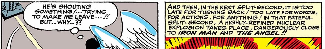 Remember the time Iron Man met the Angel? I wish I could forget