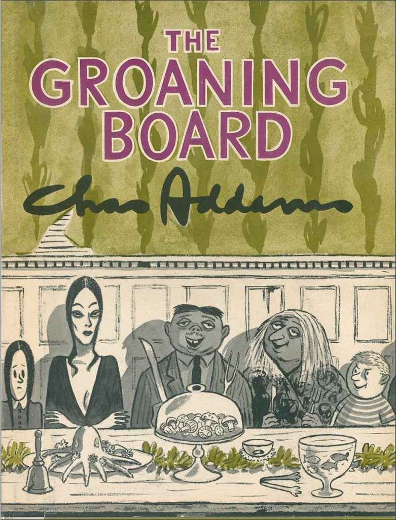 'The Groaning Board' by Chas Addams