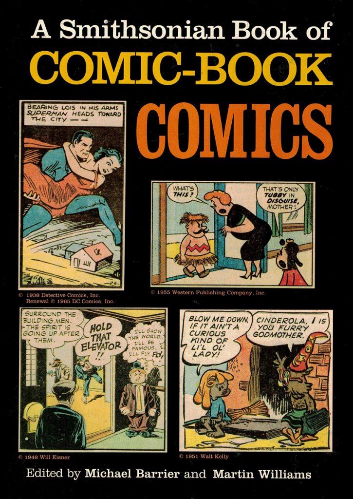 'A Smithsonian Book of Comic Book Comics'